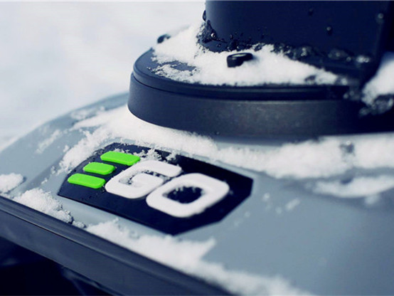 EGO Snow Blower In Antarctica