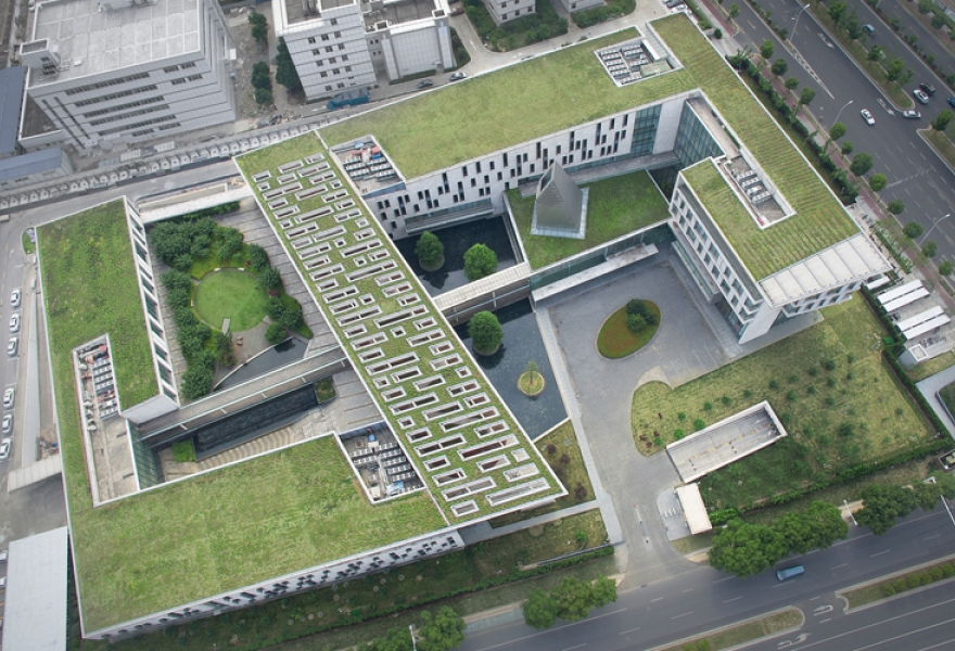 Environmental protection green roof